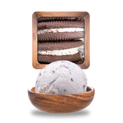 Glace American biscuit